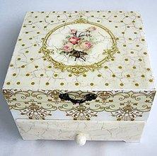 Krabičky - Šperkovnica- Rose - 9552723_