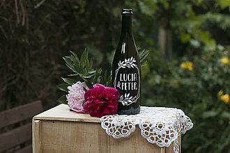 Darčeky pre svadobčanov - Vyrezávane svadobné etikety Diamond - 9553623_