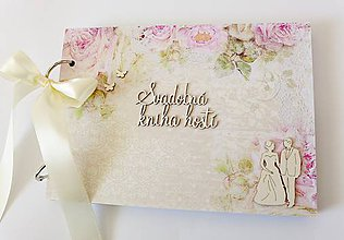 Papiernictvo - svadobná kniha hostí - 9552528_
