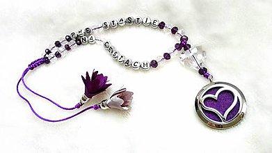 Iné šperky - VOŇAVÝ talizman do auta - 9554125_