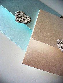 Papiernictvo - perleťová obálka - 9553151_