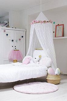 Úžitkový textil - Krajkový baldachýn - 9553729_