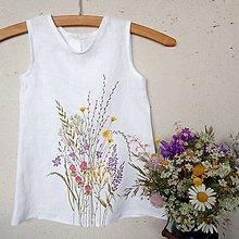 Detské oblečenie - Šaty pre Vílu Amálku ;) - 9554757_