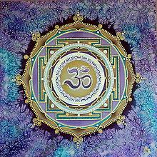 Obrazy - Mandala...Zvuk vesmíru - 9552999_