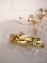 Náušnice - Pearl Aurum - 9553937_