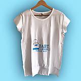 Tehotenské oblečenie - Baby loading - tehotenské tričko - 9553669_