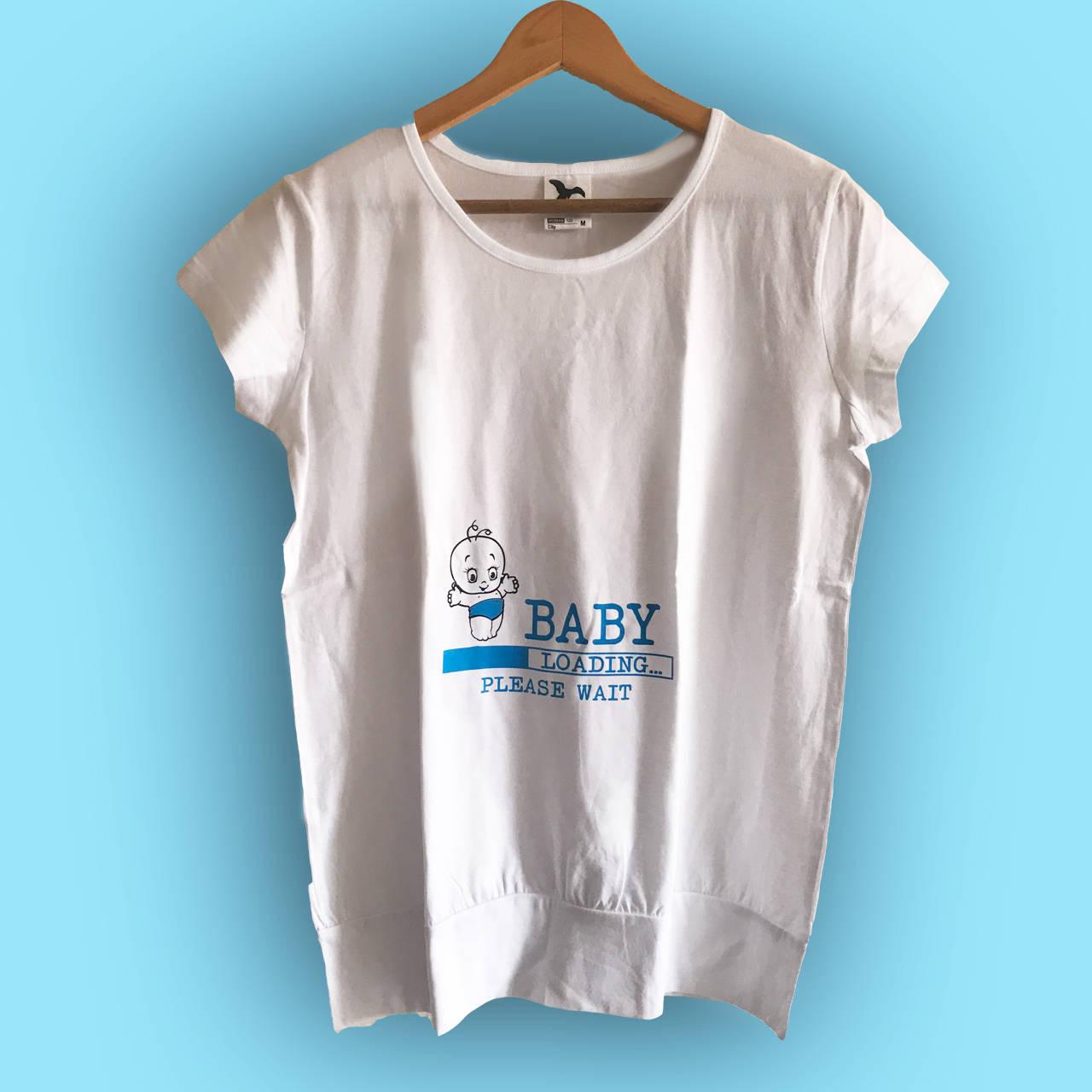 4b1d8f41e033 Baby loading - tehotenské tričko   trickoland - SAShE.sk - Handmade ...