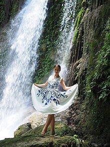 Šaty - Lučina biela - 9554592_