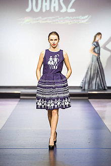 Šaty - Kolekcia Zemplínske variácie - 9554625_