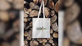 Iné tašky - ♥ Plátená, ručne maľovaná taška ♥ - 9553111_