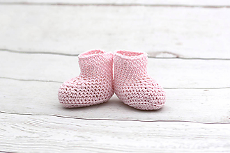 Topánočky - Ružové letné papučky BIO/ORGANIC - 9553244_