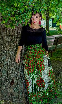 Sukne - Dlhá sukňa Ndiaye - 9553628_