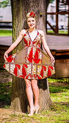 Šaty - Šaty na uväzovanie Kiara - 9553696_