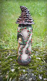 Svietidlá a sviečky - Vežička Na vlásku - 9553574_