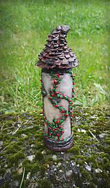 Svietidlá a sviečky - Vežička Na vlásku - 9553575_