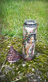 Svietidlá a sviečky - Vežička Na vlásku - 9553577_