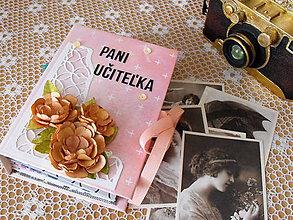 Papiernictvo - Album pre pani učiteľku - 9553391_