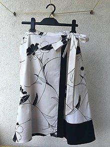 Sukne - Zoštíhľujúca zavinovacia sukňa=zlava 10 eur. - 9554717_