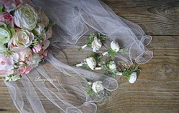 Pierka - svadobné pierko..rozmarínové - 9552544_