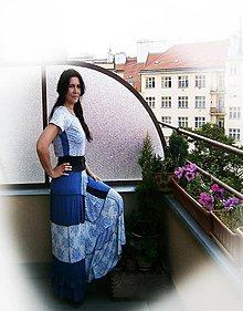 Šaty - provence shabby-maxišaty - 9555248_