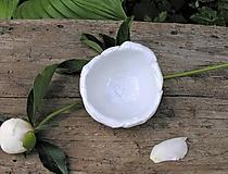 Nádoby - porcelánové misky na prstienky - 9556768_