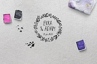 Papiernictvo - Svadobná pečiatka 06 - 9556720_