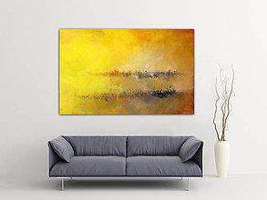 Obrazy - Svitanie v zlatom - 9556396_