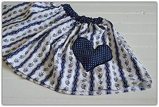 Detské oblečenie - Pískacia sukňa - 9557134_