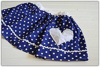 Detské oblečenie - Pískacia sukňa - 9557214_