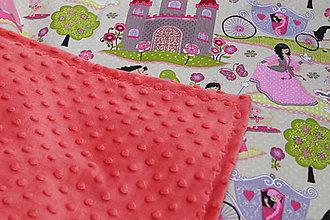 Textil - Minky deka na leto - 9555990_