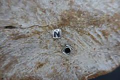 Korálky - Písmenko N - 9555495_