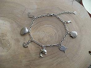 Iné šperky - nákotník(retiazka na nohu)chirurgická oceľ - 9555639_