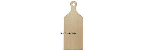 Polotovary - Drevená doska - 34,5cm, masív, ihneď - 9556895_