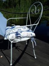 Úžitkový textil - Ľanový podsedák Sound of Sea - 9557080_