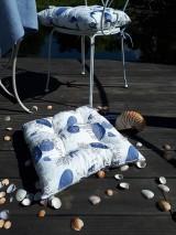 Úžitkový textil - Ľanový podsedák Sound of Sea - 9557089_
