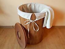Nábytok - Kôš na prádlo (Laundry basket) - 9559508_