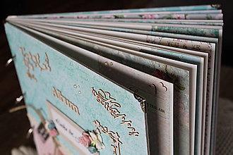 Papiernictvo - Veselý partnerský zaľúbený fotoalbum - 9557269_
