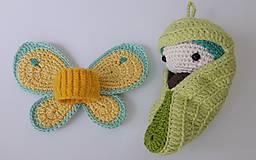 Hračky - Život motýľa..sada s kuklou - 9558058_