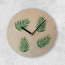 Hodiny - Nástenné hodiny Botanical - Palm - 9558610_