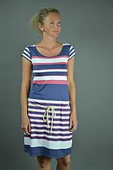 Šaty - Pruhované šaty - 9558804_