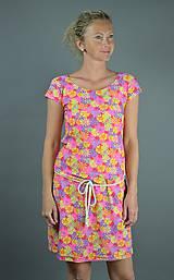Šaty - Kytičkované šaty - 9558807_