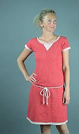 Šaty - Červené šaty - 9558810_