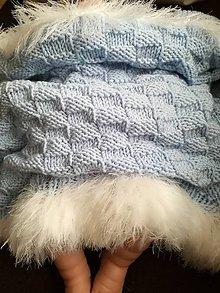 Textil - Deka pletena - 9557339_