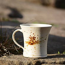 Nádoby - Hrneček Lístek 250 ml - Vůně kávy - 9559612_