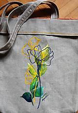 Nákupné tašky - Plátená taška @maky - 9558801_