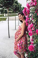 Tehotenské oblečenie - Šaty BLOSSOM - 9559818_