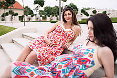 Tehotenské oblečenie - Šaty BLOSSOM - 9559824_