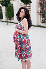 Tehotenské oblečenie - Šaty JASMINE - 9559827_