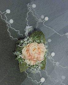Dekorácie - svadobné pierko pre ženícha - 9563215_