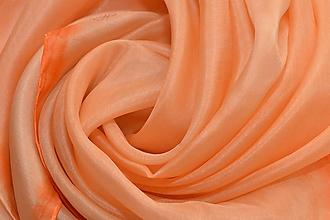 Šatky - HOPPI - maľovaná hodvábna šatka. - 9563410_